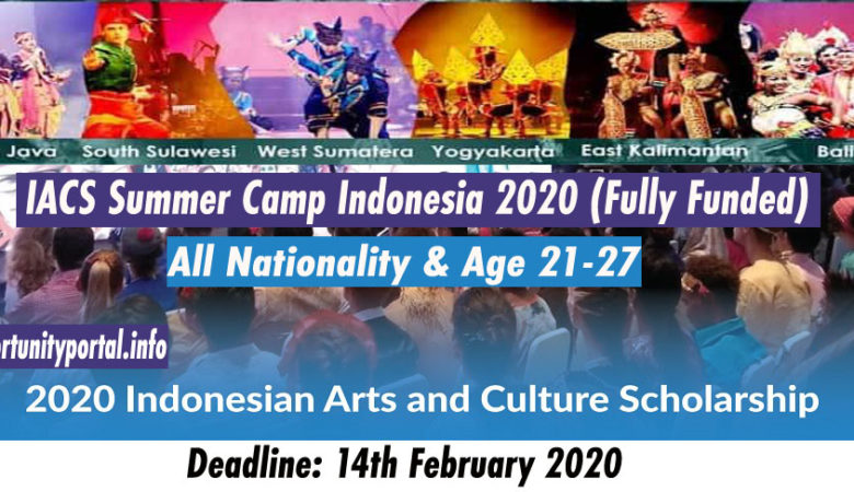 IACS Summer Camp Indonesia 2020 (Fully Funded) Abroad Summer Program