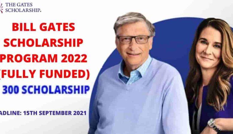 300 Gates Foundation Undergraduate Scholarship In USA 2022 (Fully Funded)