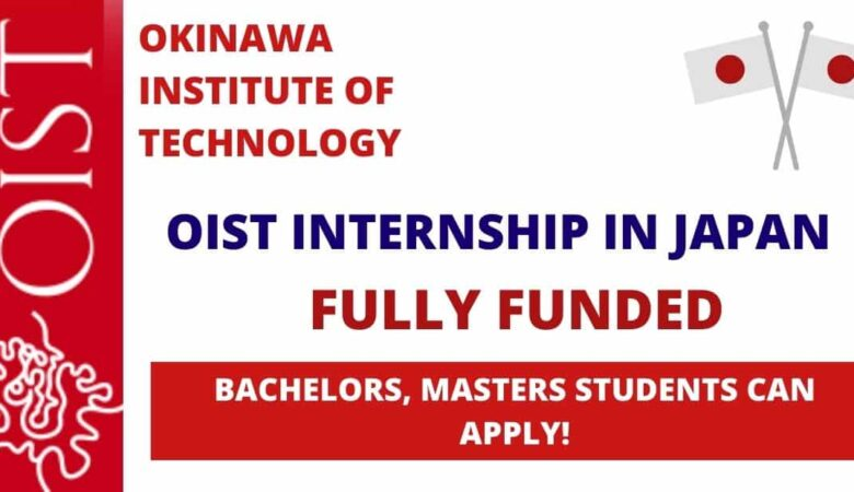 Okinawa Institute of Science and Technology (OIST) Japan Internship Program 2021