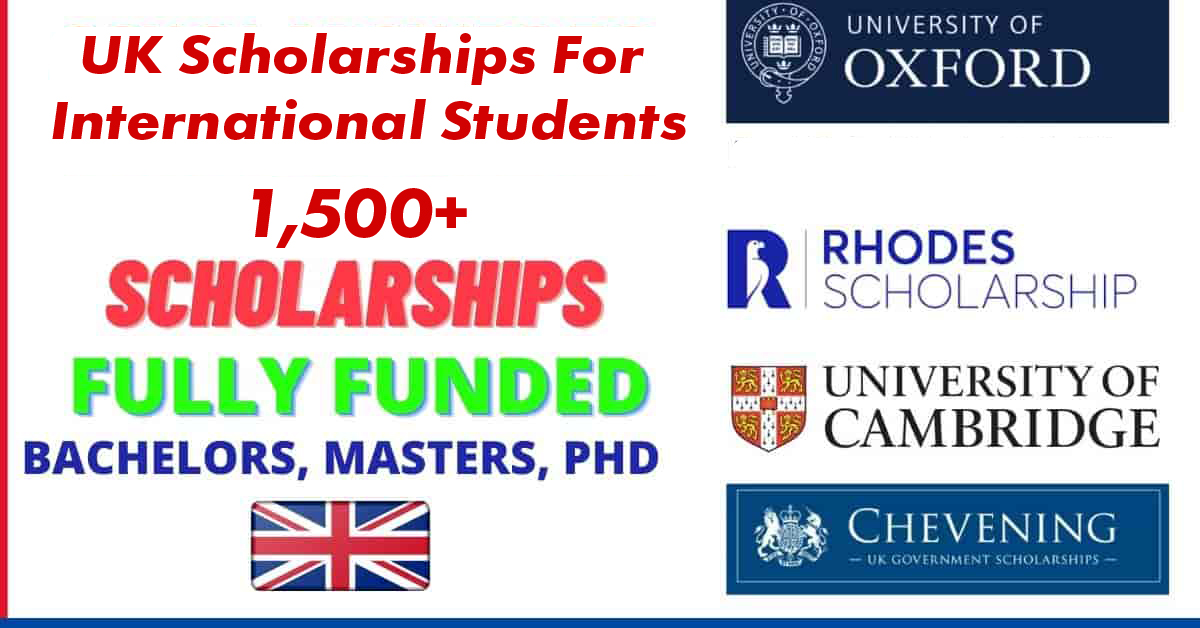 1,500+ UK Scholarships For International Students 2021 ...