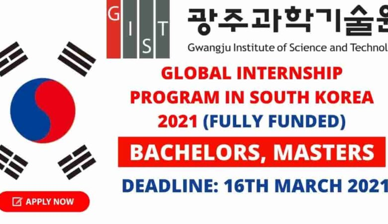 Global Internship Program (GIP) South Korea 2021 (Fully Funded)