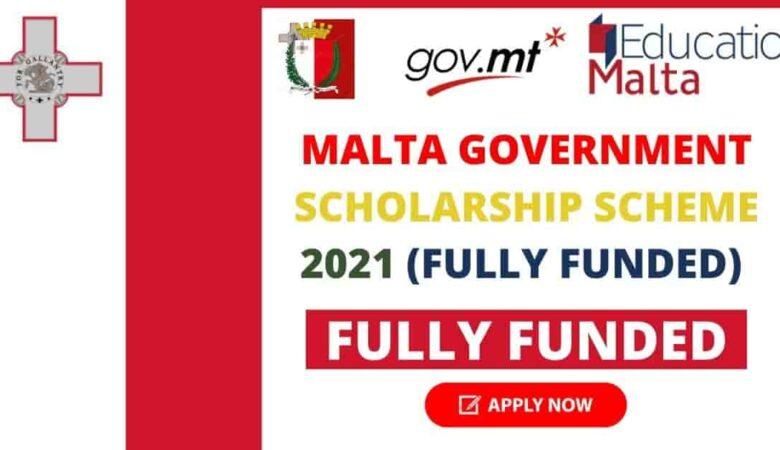Malta Government Scholarships International Students 2022