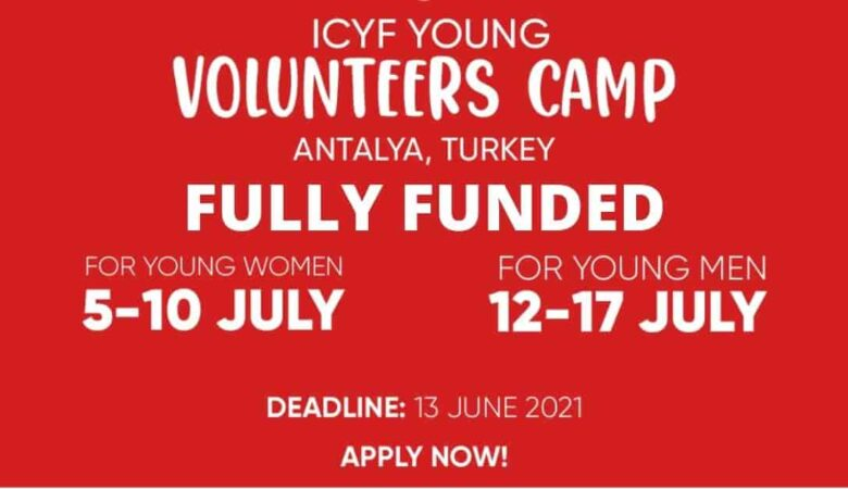 Islamic Youth Cooperation Forum Volunteer Camp in Turkey 2021 | Fully Funded