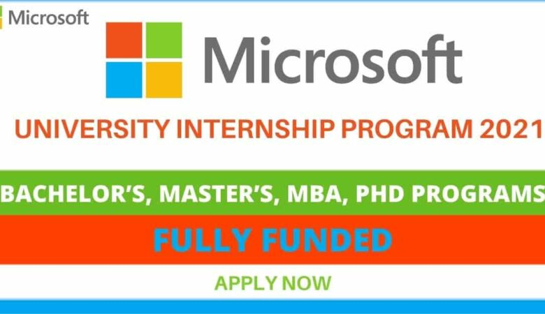 Microsoft Internship Program 2021 For International Student