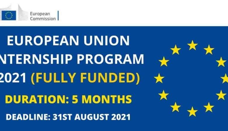 European Union Internship Program For International Student 2022 (Fully Funded)