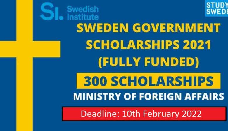 Swedish Institute Scholarships For International Student 2022