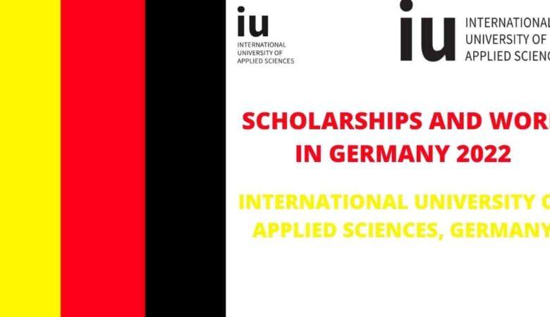 University of Applied Sciences (IU) Scholarship In Germany 2022